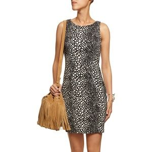  NWT Tart Jolie Black White Animal Print Dress M